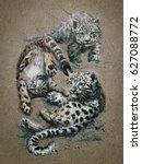 Snow Leopard 2 Background