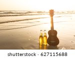 Beers And Ukulele Lay Down At...