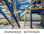 structure of stairway in... | Shutterstock . vector #627141626