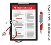 vector illustration health... | Shutterstock .eps vector #627141938