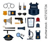 police professional equipment...