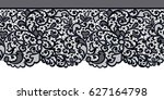 lace seamless background | Shutterstock . vector #627164798