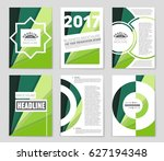 abstract vector layout... | Shutterstock .eps vector #627194348