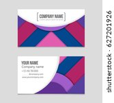 abstract vector layout... | Shutterstock .eps vector #627201926