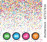 web buttons on background of... | Shutterstock .eps vector #627217616