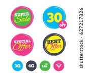 super sale and best offer... | Shutterstock .eps vector #627217826