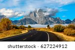 Grand Teton National Park USA Wyoming autumn