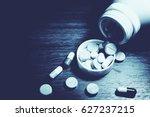 drug prescription for treatment ...   Shutterstock . vector #627237215
