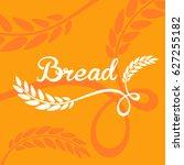 bread logo   Shutterstock .eps vector #627255182