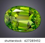 isolated jewel on white... | Shutterstock . vector #627285452