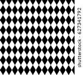 harlequin or argyle pattern... | Shutterstock .eps vector #627341792