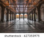 tunnel to bethesda terrace and... | Shutterstock . vector #627353975