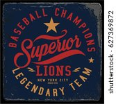 vintage varsity graphics and... | Shutterstock .eps vector #627369872