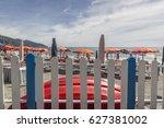 monterosso al mare italy... | Shutterstock . vector #627381002