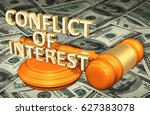 conflict of interest legal... | Shutterstock . vector #627383078