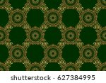 raster seamless pattern with... | Shutterstock . vector #627384995
