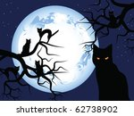 Halloween. Mystical Night. The...