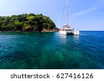 Sailing Catamaran At Koh Maito...