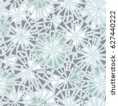 vector silver grey triangles... | Shutterstock .eps vector #627440222