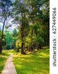 landscape view of national park ... | Shutterstock . vector #627449066