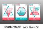 cover design template  ... | Shutterstock .eps vector #627462872
