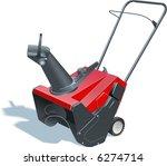 snowblower   Shutterstock . vector #6274714