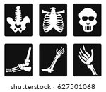 x ray icons | Shutterstock .eps vector #627501068