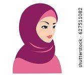 hijab woman. islam hijab.   Shutterstock .eps vector #627511082