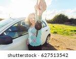 auto business  car sale ...   Shutterstock . vector #627513542
