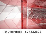 abstract architectural interior ... | Shutterstock . vector #627522878