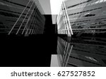 abstract white interior of the... | Shutterstock . vector #627527852