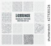 set of grange seamless patterns.... | Shutterstock .eps vector #627530126