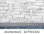 black stone table top and... | Shutterstock . vector #627531332