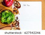 diet concept with diet plan