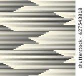 seamless horizontal line... | Shutterstock .eps vector #627543818