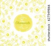 chamomile flowers vector design ... | Shutterstock .eps vector #627549866