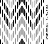 ikat seamless pattern design... | Shutterstock . vector #627575456