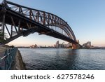 beautiful sunrise over sydney... | Shutterstock . vector #627578246