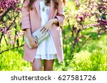 luxury stylish spring image of... | Shutterstock . vector #627581726