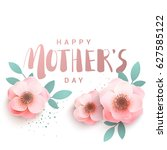 happy mother's day premium... | Shutterstock .eps vector #627585122