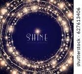 abstract elegant shining... | Shutterstock .eps vector #627613406