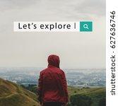 adventure discover explore... | Shutterstock . vector #627636746