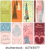 christmas banners in different... | Shutterstock .eps vector #62765077
