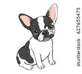 vector illustration of cute... | Shutterstock .eps vector #627655475