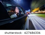 moving towards the nightlife in ... | Shutterstock . vector #627686336