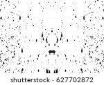 black and white vintage grunge... | Shutterstock .eps vector #627702872