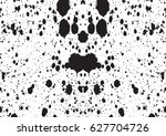 black and white vintage grunge... | Shutterstock .eps vector #627704726