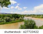Confluence Of Colorado River...