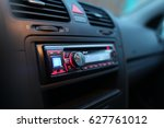 car audio  | Shutterstock . vector #627761012