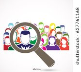 people search icon  pictograph  ...   Shutterstock .eps vector #627761168